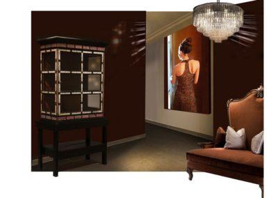 photo-sur-toile decor hall hotel boutique bijouterie