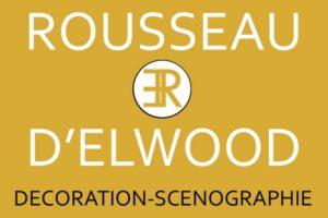 logo rousseau delwood décoration scénographie