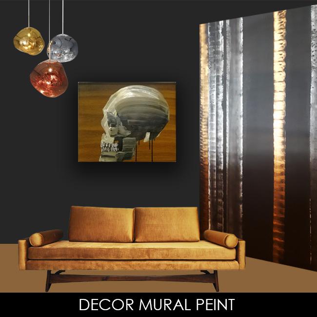 Decor mural peinture design décoration interieur