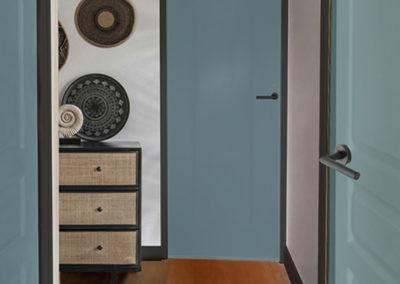 couloir déco naturel bali cannage peinture sarahlavoine
